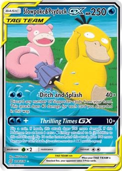Thẻ Pokemon tag team gx Slowpoke