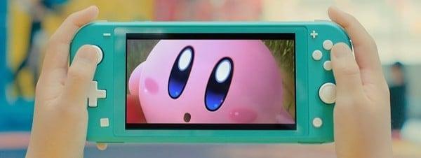 thiết kế nintendo switch lite đẹp mắt