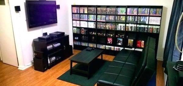 PS4 game room settings