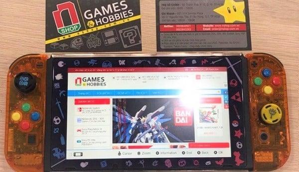 thử trình duyệt web trên Nintendo Switch