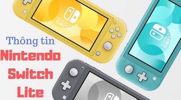 tìm hiểu Nintendo Switch Lite 2019