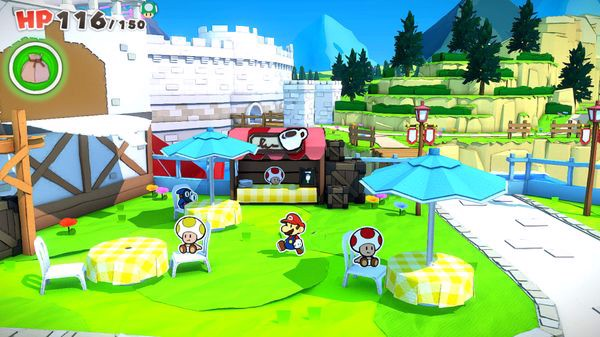 toad town hướng dẫn Paper Mario The Origami King nintendo switch