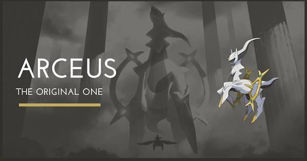 Top 100 Pokemon Mạnh nhất mọi thời đại Arceus