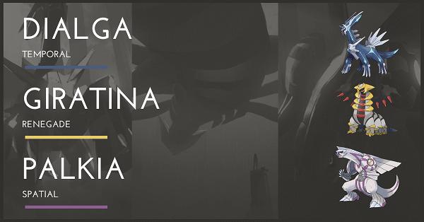 Top 100 Pokemon Mạnh nhất Dialga Giratina Palkia