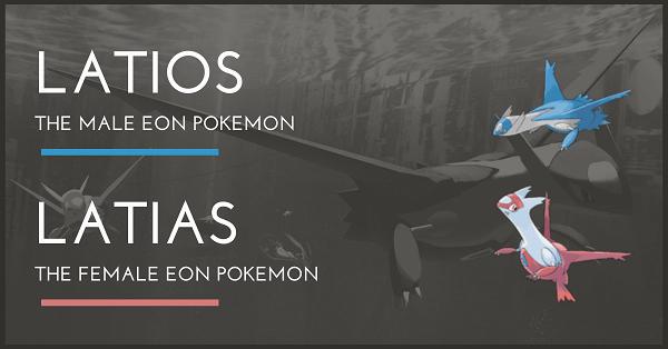 Top 100 Pokemon Mạnh nhất Latios Latias
