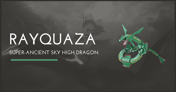 Top 100 Pokemon Mạnh nhất Rayquaza