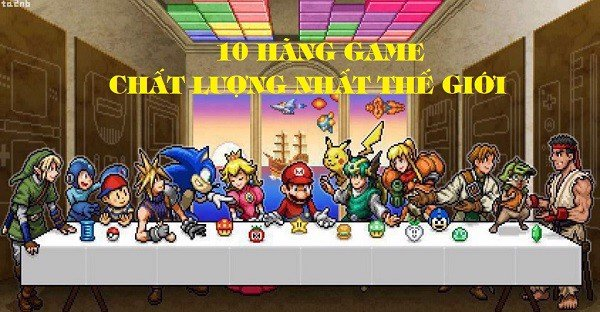 top 10 hang phat trien game chat luong the gioi