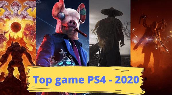 top đĩa game PS4 ra mắt 2020