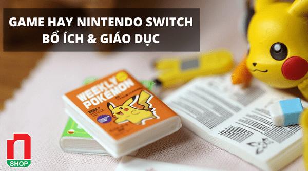 top 10 game giáo dục trên Nintendo Switch