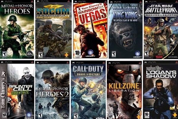 top game PSP hay nhất