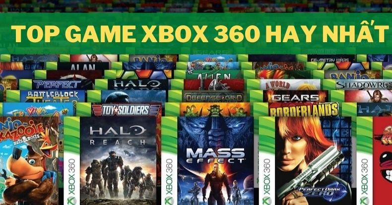 top game xbox 360 hay nhat moi thoi dai