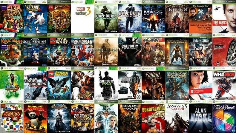top game xbox 360 nshop