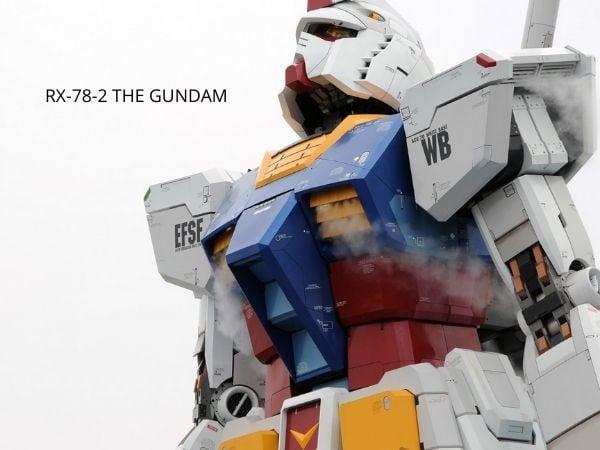 Top Gundam đẹp nhất RX-78-2 Bandai