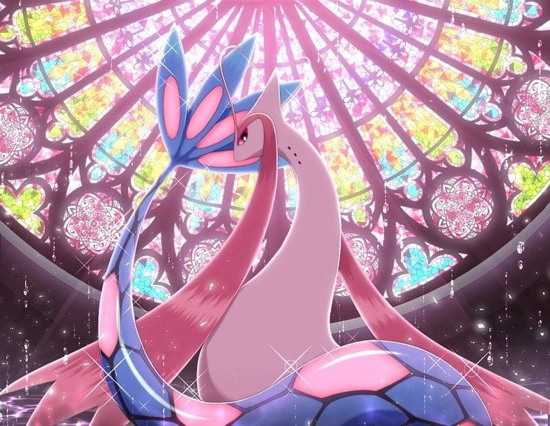 Top Pokemon đẹp nhất Milotic もこ
