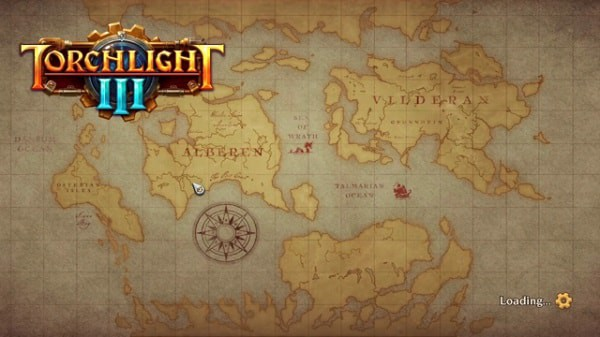 Torchlight 3 map