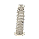 Tower of Pisa trong Animal Crossing New Horizons