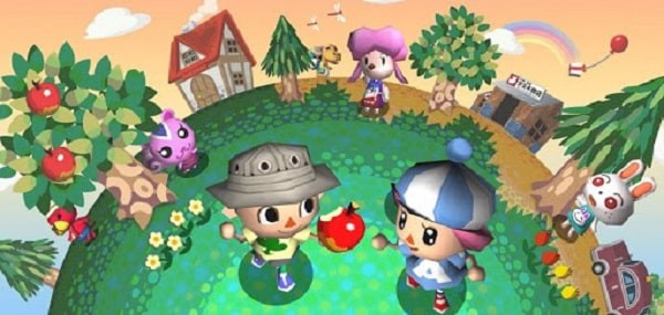 town in animal crossing wild world