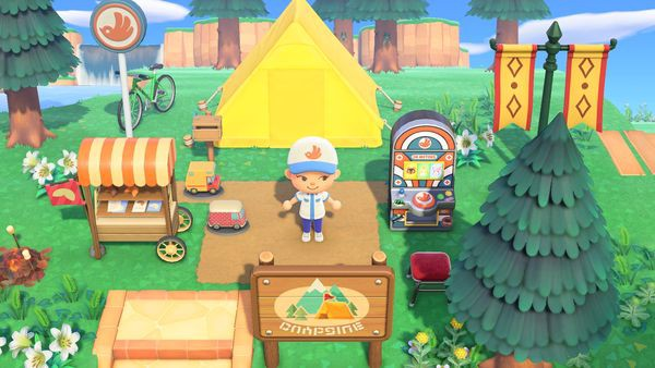 trang trí lều Animal Crossing New Horizons