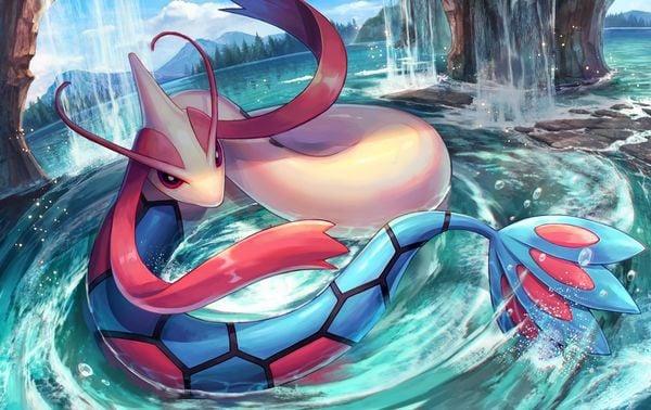 tranh pokemon Milotic