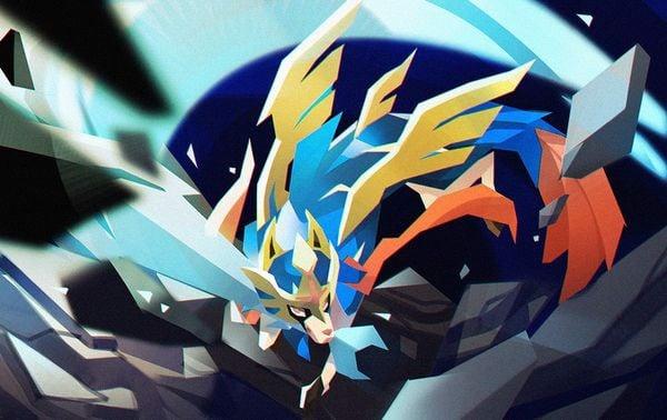 tranh pokemon Zacian