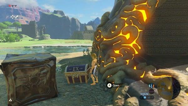 EX Treasure Chest trong DLC Zelda