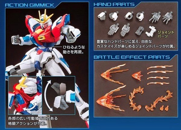 TRY BURNING GUNDAM HGBF  1144 nshop store