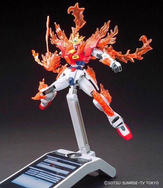 TRY BURNING GUNDAM HGBF  1144 nshop vietnam