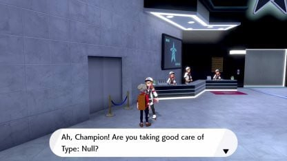 Pokemon Type:Null trong Pokemon Sword and Shield