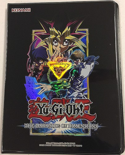 YU GI OH THE DARK SIDE OF DIMENSIONS 9 POCKET DUELIST PORTFOLIO