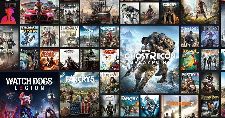 Ubisoft Games Cropped