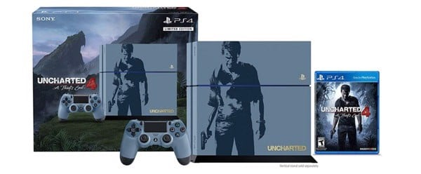 Uncharted 4 ps4 limited