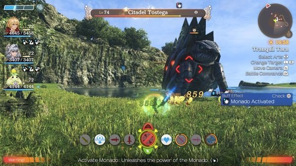 unique monster Xenoblade Chronicles Definitive Edition
