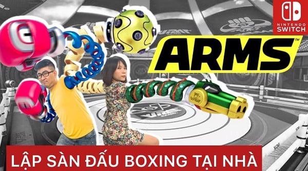 vlog arms cho Nintendo Switch
