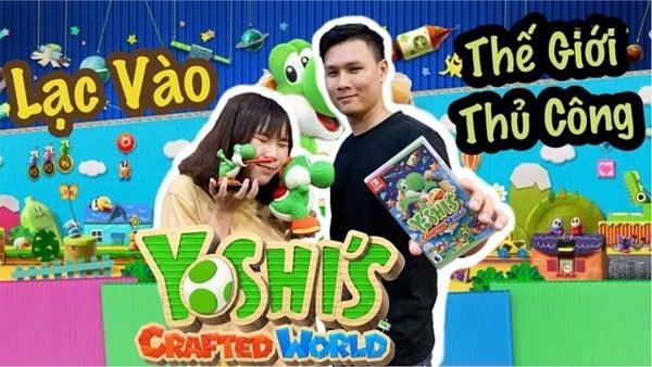 vlog Yoshi Crafted World Nintendo Switch