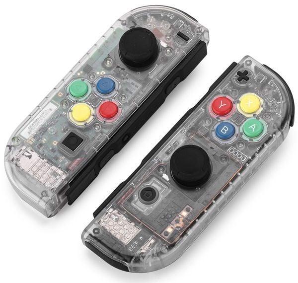 vỏ thay thế Joy con Nintendo Switch clear shell siêu đẹp