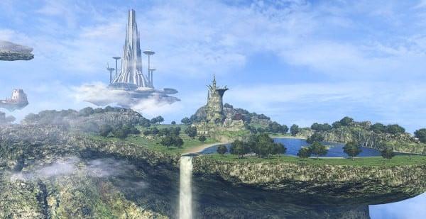 vùng đất Xenoblade Chronicles Definitive Edition