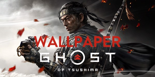 wallpaper game PS4 Ghost of Tsushima