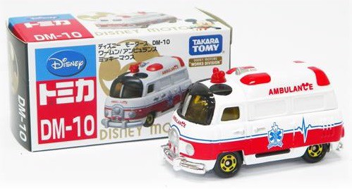 DM-10 WARM AMBULANCE MICKEY