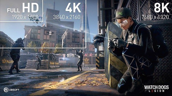 watch dogs 8k hdr comparison hdmi 2.1
