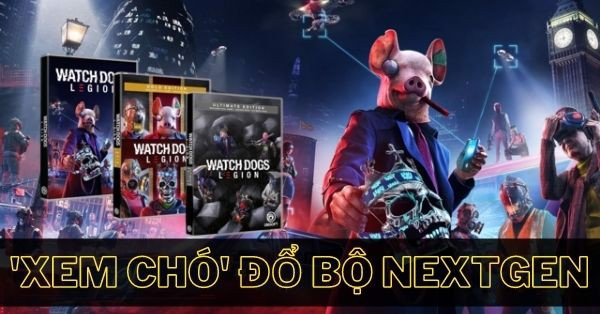 Watch Dogs Legion ps4 ps5 xbox