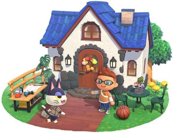 xây nhà Animal Crossing New Horizons