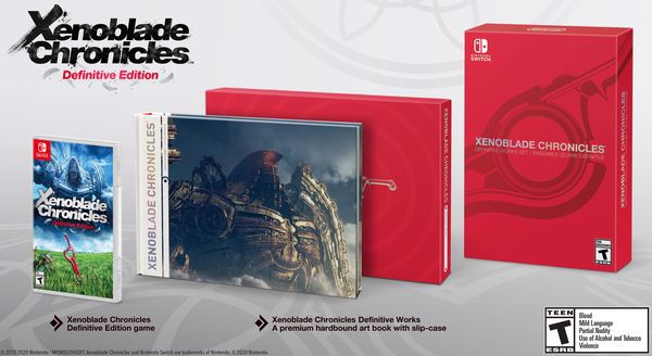 Xenoblade Chronicles Definitive Edition us