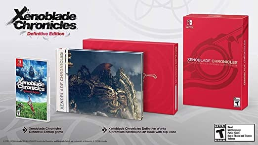 XENOBLADE CHRONICLES DEFINITIVE EDITION WORKS SET CHO NINTENDO SWITCH