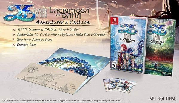 Ys VIII: Lacrimosa of DANA Adventurer
