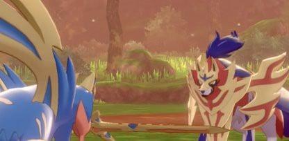 Zacian và Zamazenta trong Pokemon Sword and Shield