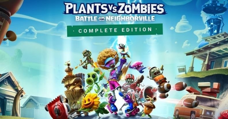 Plants vs Zombies Battle for Neighborville Complete Edition nintendo switch 2021