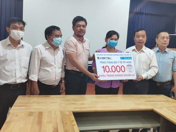 Nhiều Doanh Nghiệp đồng hành cùng Sở Y tế TP.HCM chống dịch COVID-19