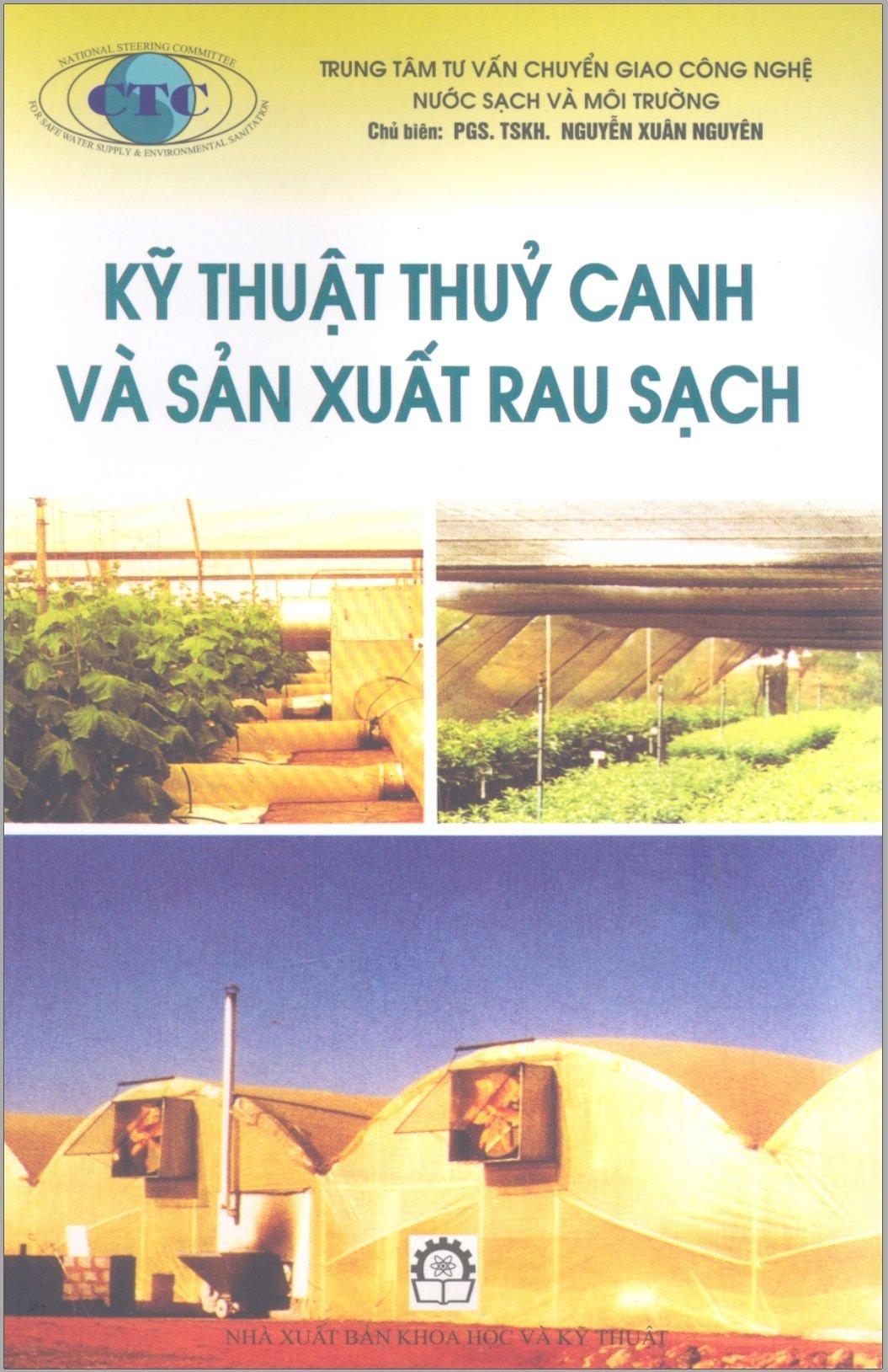 kỹ thuật thủy canh và sản xuất rau sạch