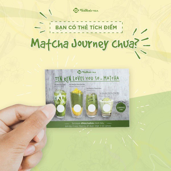Thẻ Matcha Journey