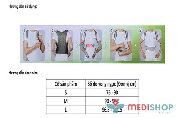Hướng dẫn sử dụng và chọn size đai chống gù cho trẻ em